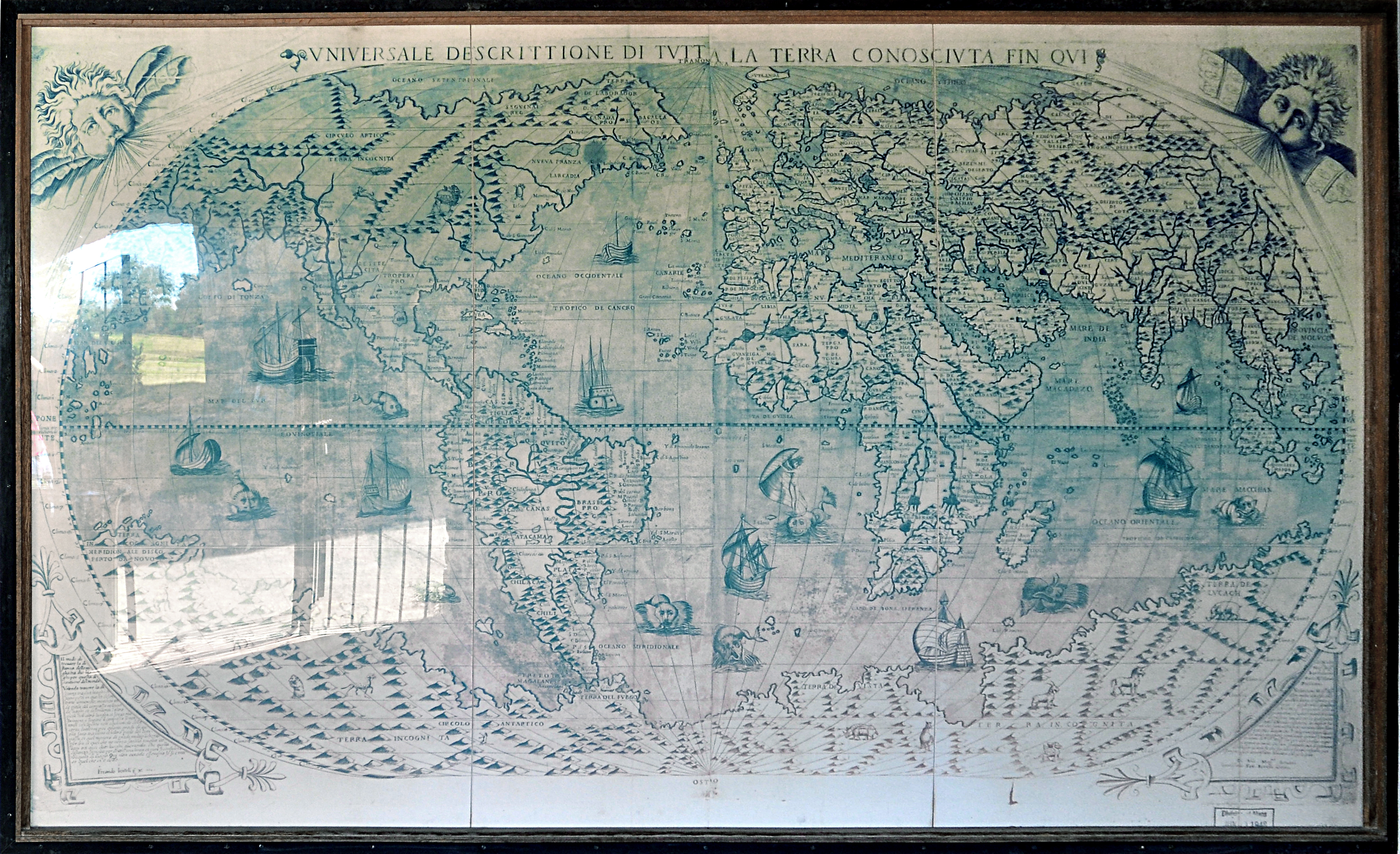 Universal Description of All Land Known To Date, Mission San ...